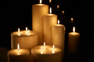 couleurs de bougies
